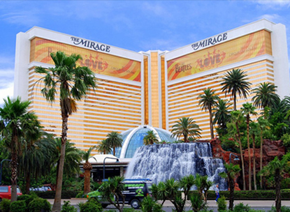 The Mirage hotel and casino in Las Vegas
